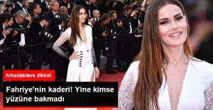 Cannes'de Fahriye Evcen'in Yüzünü Kimse Bakmadı