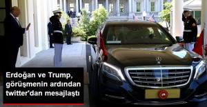Cumhurbaşkanı Erdoğan ve Trump, Görüşme Bittikten Sonra Twitter'dan Mesajlaştı