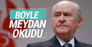 Devlet Bahçeli meydan okudu