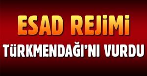 Esad rejimi Türkmendağı'nı vurdu