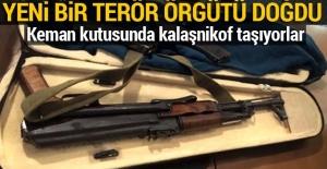 Eylem hazırlığındaki teröristin keman kutusundan kalaşnikof çıktı