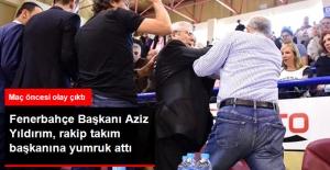 Fenerbahçe Başkanı Aziz Yıldırım, Rakip Takım Başkanına Yumruk Attı