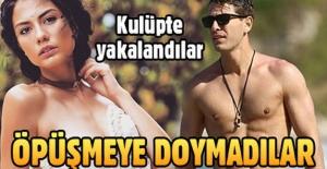 Furkan Palalı ve Demet Özdemir kulüpte...