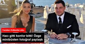 Hacı Sabancı Gitti, Özge Ulusoy VIP Araçtan Dolmuşa Düştü