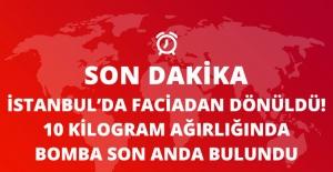 İstanbul'da Faciadan Dönüldü! Ormanlık Alanda 10 Kilo Bomba Bulundu