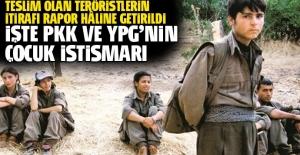 İşte PKK ve YPG'nin çocuk istismarı