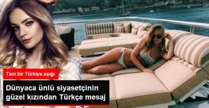 Kremlin Sözcüsü Peskov'un Güzel Kızından Türkçe Mesaj
