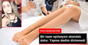 Lazer Epilasyonda Bir Skandal Daha! Genç Kızın Hem Kolu Yandı Hem de Dövmesini Kaybetti