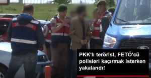 PKK'lı Terörist, Bulgaristan'a Kaçırmaya Çalıştığı FETÖ'cü Polislerle Birlikte Yakalandı