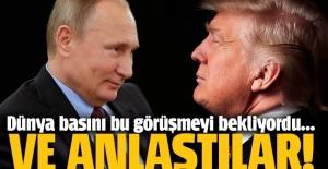 Putin ve Trump telefonda görüştü