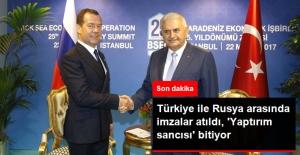 Rusya ile Türkiye Arasında Ticaret Engelinin Kaldırılmasına Yönelik İmzalar Atıldı