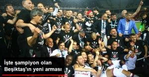 Şampiyon Beşiktaş'ın 3 Yıldızlı Arması Tanıtıldı