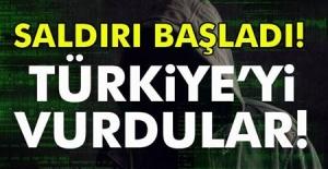 Son Dakika! Aman dikkat, Siber saldırı başladı! Türkiye'yi vurdular