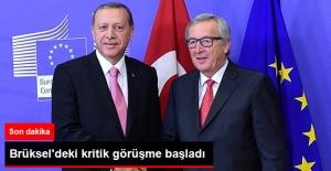 Son Dakika! Erdoğan'ın Brüksel'deki Kritik Görüşmesi Başladı