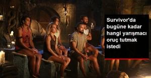 Survivor#039;da Oruç Tutmak İsteyen...