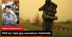 """Terör Örgütü PKK'nın """"Sözde Özel Güç Sorumlusu"""" Öldürüldü"""