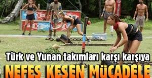 Türk-Yunan Survivor takımları yarıştı. İkinci oyunu kim kazandı?