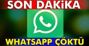 WhatsApp yine mi çöktü?