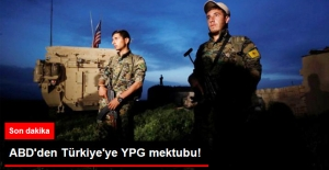 ABD#039;den Türkiye#039;ye YPG Mektubu:...