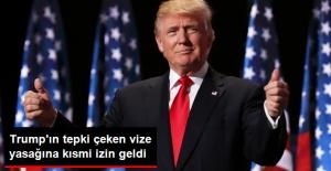 ABD Yüksek Mahkemesinden Trump'ın Vize Yasağına Kısmi İzin