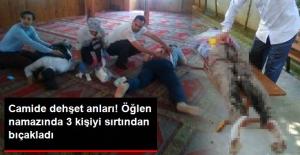 Akli Dengesi Bozuk Vatandaş, Camide 3 Kişiyi Bıçakladı