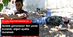 Antalya'da İbretlik Görüntüler! Bonzai İçen Genç, Yerde Kıvrandı