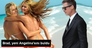Brad Pitt, Avustralyalı Model Elle Macpherson...