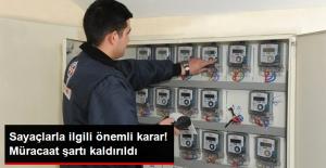 Elektrik, Su ve Gaz Sayaç Kontrolünde Yazılı Müracaat Şartı Kaldırıldı