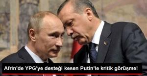 Erdoğan, Trump'tan Sonra Putin ile Telefonla Görüştü!