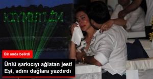 Eşi, Evlilik Yıl Dönümlerinde Ebru Yaşar'ın Adını Dağlara Yazdırdı