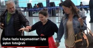Haluk Bilginer ile Aşkın Nur Yengi Havaalanında Görüntülendi