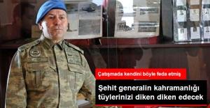 Şehit Tümgeneralin Kahramanlığı...