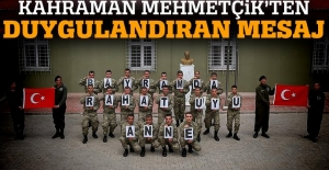 Sınırdaki Mehmetçik'ten 'Bayramda rahat uyu anne' mesajı
