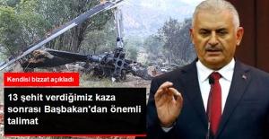Şırnak'ta 13 Şehit Verdiğimiz Helikopter Kazası Sonrası Başbakan'dan Flaş Talimat!