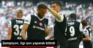Süper Lig'de Beşiktaş, Osmanlıspor'u 4-0 Yendi