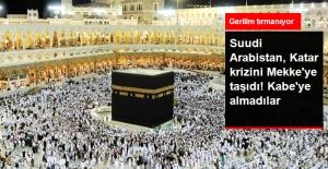 Suudi Arabistan, Umre İçin Gelen Katar Vatandaşlarını Kabe'ye Almadı