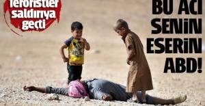 Terörist PYD Rakka'ya saldırı başlattı, ABD sivilleri vurdu