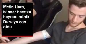 Adriana Lima'nın Sevgilisi Metin Hara, Kanser Hastası Hayranına Kanını Verdi