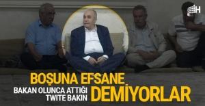 Ahmet Eşref Fakıbaba'nın twiti bomba! Boşuna efsane olmamış