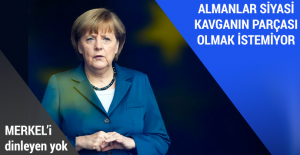 Almanlar siyasi kavganın parçası olmak istemiyor