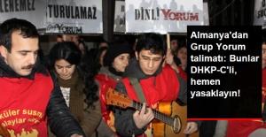 Almanya İçişleri Bakanlığı, Grup Yorum Konserlerinin Yasaklanmasını İstedi