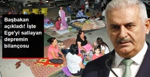 Başbakan Ege'deki Depremin Bilançosunu Açıkladı