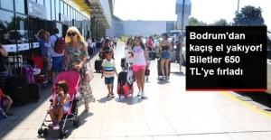 Bodrum'dan Kaçış El Yakıyor! Biletler 650 TL'ye Fırladı