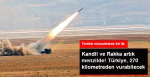 Bora Füzeleri TSK'ya Teslim Edildi! Türkiye, 270 Kilometre Uzaktan Vurabilecek
