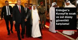 Cumhurbaşkanı Erdoğan'a Kuveyt'te Emir'den Çok Sıcak Karşılama