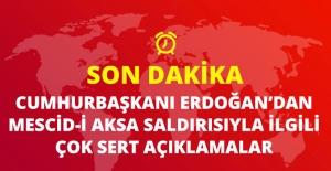 Cumhurbaşkanı Erdoğan'dan Mescid-i Aksa Çıkışı: Zalim Hükümdarlar Karşısında Susmayız