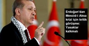 Cumhurbaşkanı Erdoğan, Mescid-i Aksa Ablukasıyla İlgili İsrail Cumhurbaşkanını Aradı
