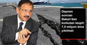 Deprem Sonrası Çevre Bakanı'ndan Uyarı: 7.5 Milyon Yapının Yıkılması Lazım