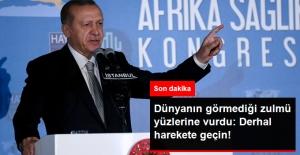 Erdoğan'dan Dünyaya Filistin Çağrısı: İsrail'e Karşı Derhal Harekete Geçsin