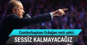 Erdoğan: Kutsallarımızın ayaklar altına alınmasına sessiz kalamayız